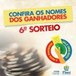 SEFAZ divulga lista completa dos ganhadores do 6º Sorteio da Nota Piauiense
