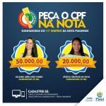 SEFAZ divulga lista completa dos ganhadores do 11º sorteio da Nota Piauiense