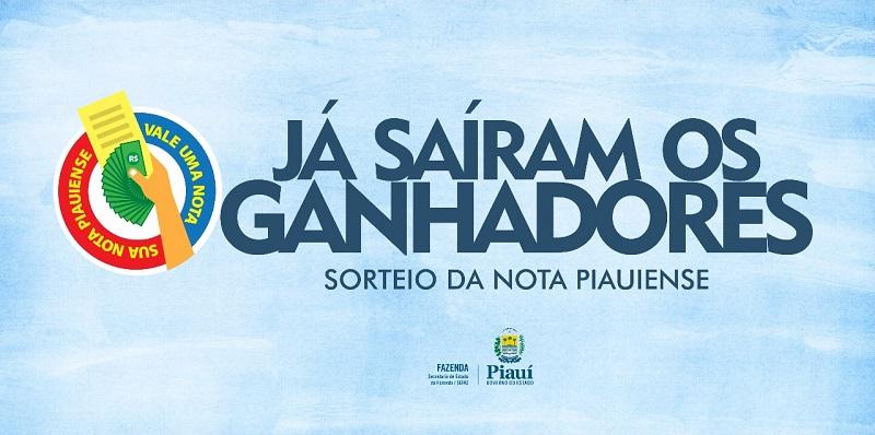 Confira a lista de ganhadores do 28º sorteio da Nota Piauiense