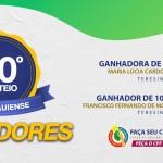 Nota Piauiense faz 50º sorteio e divulga ganhadores dos maiores prêmios